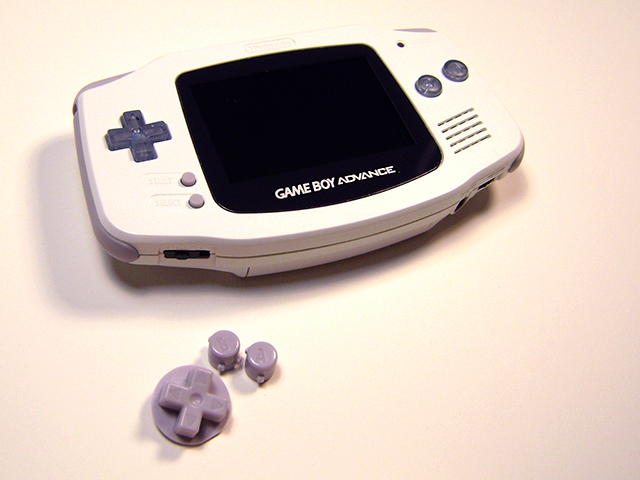 1 Gameboy Color Buttons
