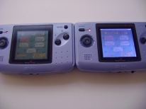 Backlit Neo Geo Pocket Color mod