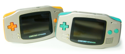 Nintendo Spaceworld themed Gameboy Advance