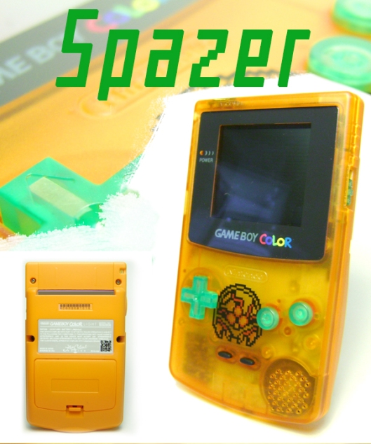 Spazer - Metroid themed GBC!